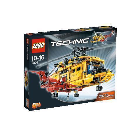 Lego Technic Helicopter 9396 Ebay