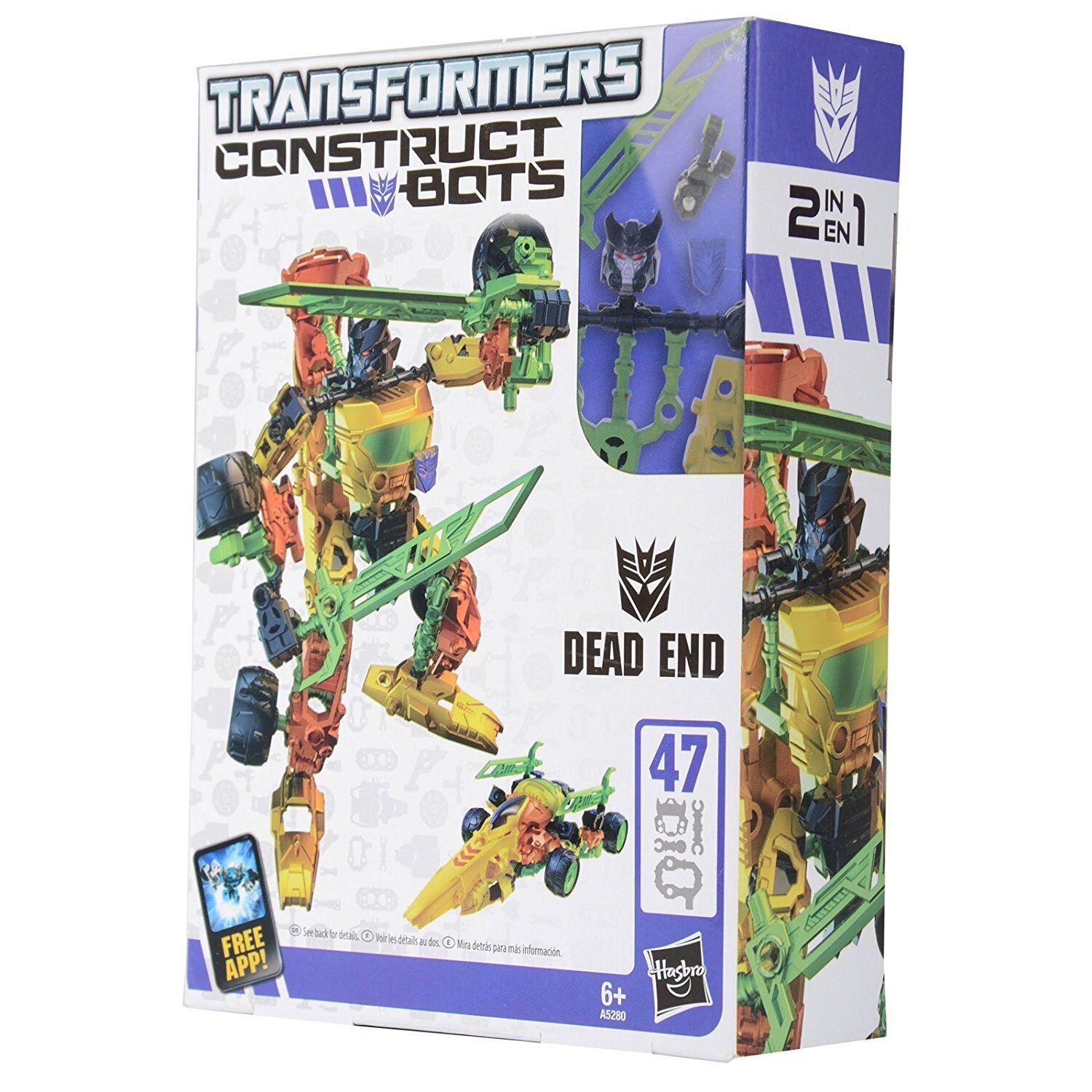 Transformers Construct Bots 2 In 1 Dead End