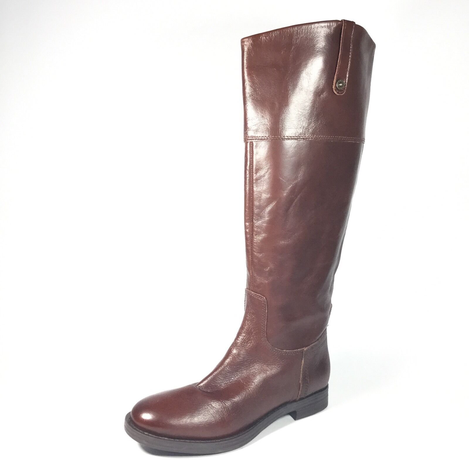 Enzo Angiolini Ellerby Women's Size 6.5 M Brown Leather High Boots