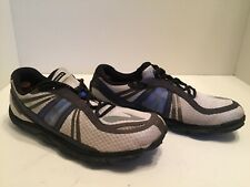 74b4497264b Brooks Pure Connect Mens Gray Blue Black Lightweight Running Shoes Size  10.5 M