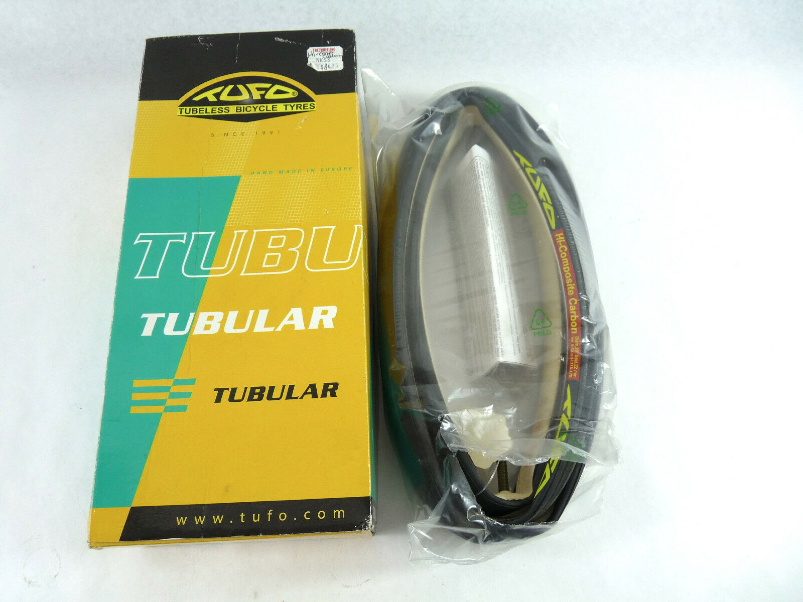 Tufo Tubular Tire Hi-Composite Carbon Single NOS 700 x 22 Racing Bicycle TR1801