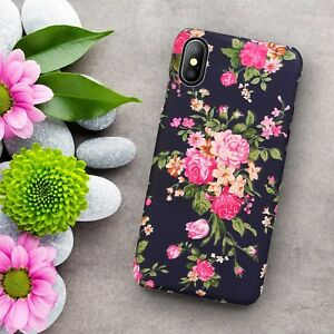 Unique-Ultra-Slim-Cute-Flower-Thin-Hard-Case-Cover-For-iPhone-XS-Max-XR-X-8-7-6