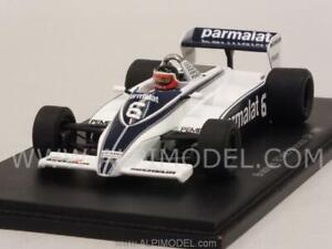 Brabham Bt49c Gp Monaco 1981 Hector Rebaque 1:43 Spark S4348