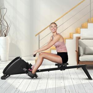 Rudergeraet-Rudermaschine-Ruderbank-Heimtrainer-Fitnessgeraet-bis-120-kg-schwarz