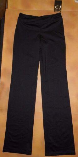 NWT Dance Bloch Black Smock Waist Pants Girls Medium Child 8//10 CP7008