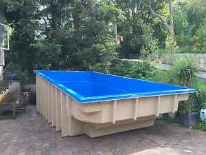 Details about Fibreglass Pools / Fibreglass Swimming Pools / Kit Pools /  Diy Pools Above Grnd
