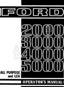 Ford-2000-3000-4000-5000-Tractor-Owner-Operator-Manual