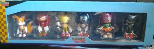 Sonic the Hedgehog Mini Figure 6pcs Set de collection 2.5 in environ 6.35 cm