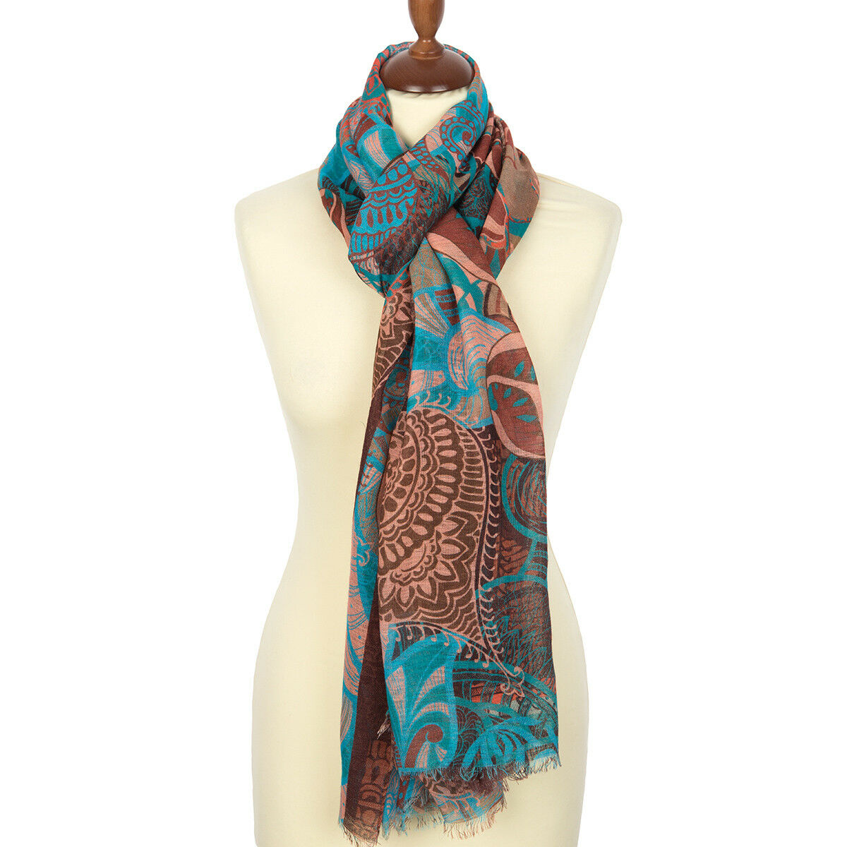Pawlowski Possad Schal 100% Wolle. Wolle. Wolle. Snood, Stole, Pashmina weiblich 230x80 cm 94a4d4