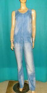 BEL AIR combinaison en jean coton bleu clair taille 36