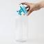 thumbnail 2 - A di Alessi Gianni Glass Jar, Blue Lid, 140 cl, AMDR06 AZ