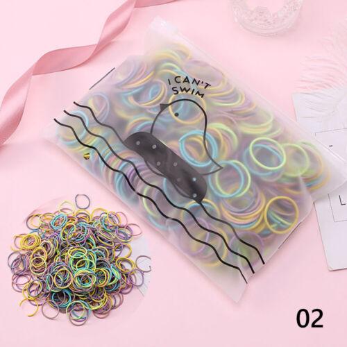 Elastic Hair Rubber Bands Girls Hair Accessories Nylon Hair Ropes Hair Bands