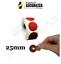 miniatuur 6 - Bollini Scratch off modello gratta e vinci adesivi a cerchio in vari colori