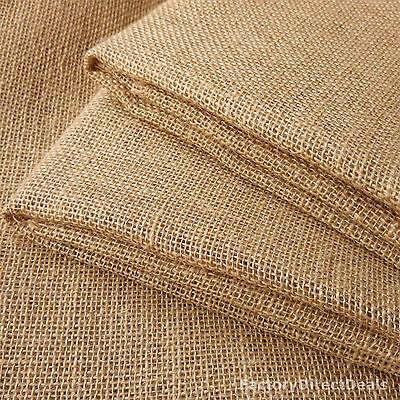 "Jute Hessian Burlap Fabric Wedding Crafts Art Upholstery Garden Sacks 10oz 40/"""