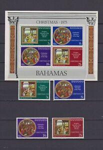 S16770-Bahamas-MNH-New-1975-Christmas-4v-S-S
