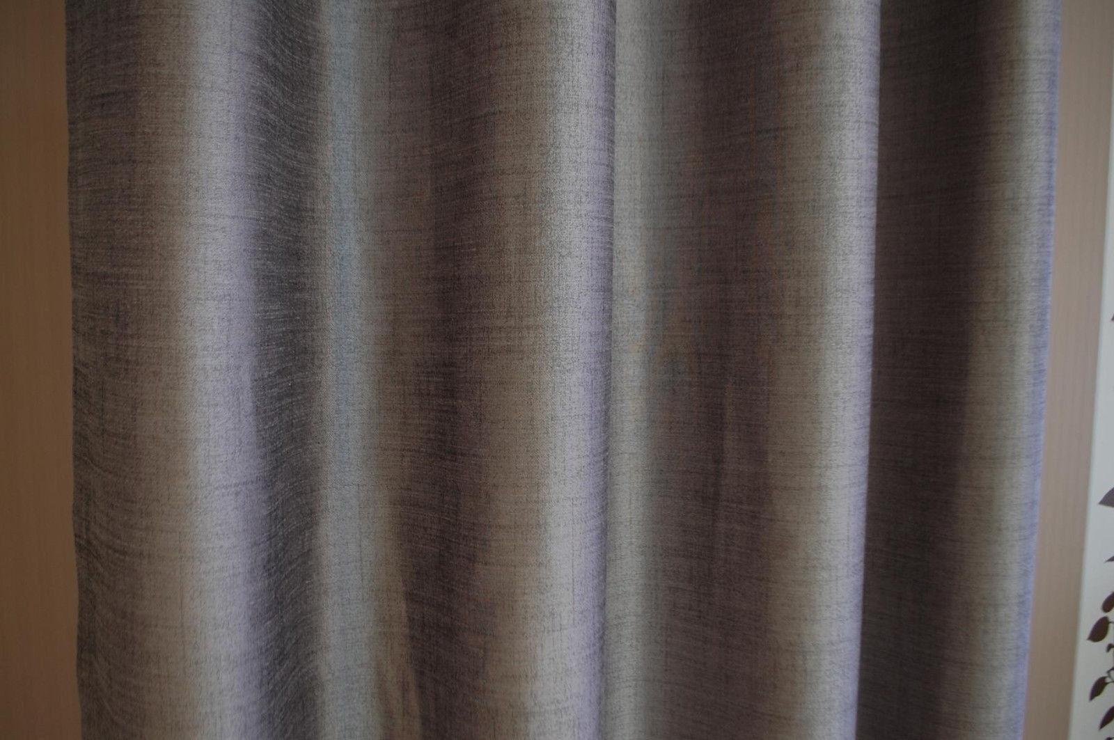 JOOP  Gardine Gardine Gardine Vorhang Texture 010 Grau 140x250 cm Fertigschal 3f74ca