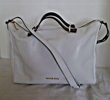 Michael Kors-  Chelsea Large Convertible Leather Shoulder Bag -  White / Black