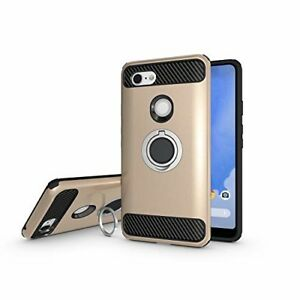 new style 14996 d25ce Details about Google Pixel 3 XL Case, Armor Dual Layer 2 in 1 shockproof  .GOLD