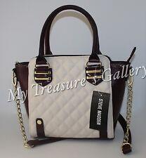 New Steve Madden Mini Tote Purse Handbag Shoulder Bag Wine Multi NWT
