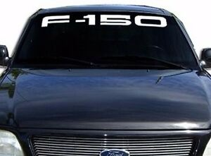 FORD F Windshield Window Vinyl Decal Sticker Custom Vehicle - Window decals custom vehicle