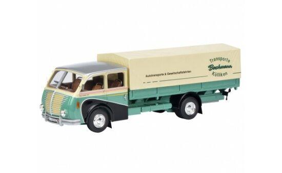 450900700 - Schuco Schuco Schuco Saurer 3C-H Lkw  Bachmann  - 1 43  | Charakteristisch  5a226c