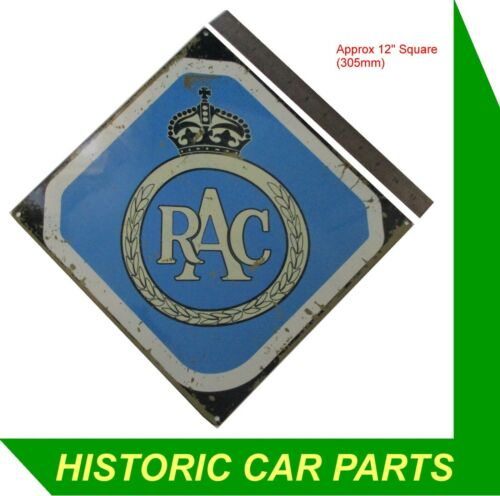"""Need a present for a friend Try this Vintage Style Enamel /""""RAC/"""" Sign"""