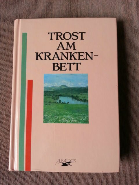 TB TROST AM KRANKENBETT Manfred Pawlak, Albatros, 11 x 16 cm, Mitbringsel