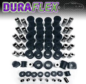 Mazda-MX5-Eunos-Miata-Front-amp-Rear-Suspension-amp-Chassis-Bush-Set-Black-PU