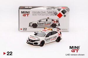 MGT0 LHD Honda Civic Type R - Championship white // Modulo Kit MINI GT 1:64