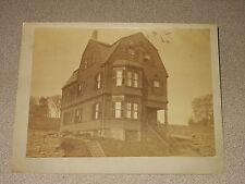 Vintage 1890's Picture Hendy House Highland St.  Roxbury, Massachusetts