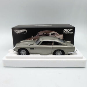 Hot-Wheels-elite-Aston-Martin-DB5-007-JAMES-BOND-Goldfinger-BLY20-Diecast-1-18