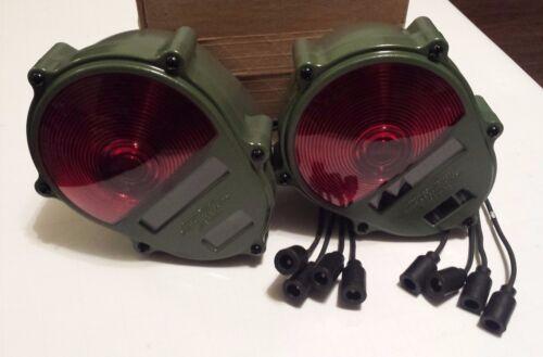 Military Tail Lights NEW HMMWV M998 M35A2 M35A3 M923 M813 Humvee 24V PAIR