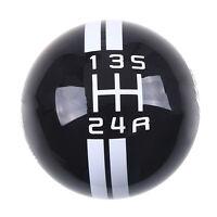 Manual Car Gear Shift Knob Shifter Cobra For Ford Mustang Gt 5 Speed Black/w