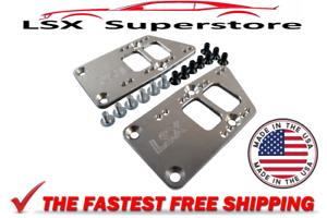 LS1 Conversion Motor Mount Adapter Plates Billet Aluminum LS Swap LS Conversion