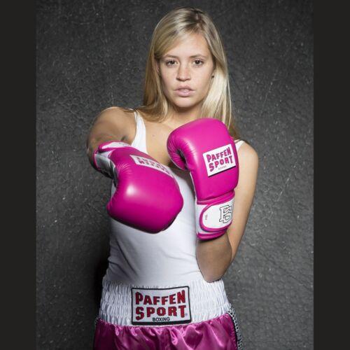 MUAY THAI Paffen Sport Lady Fit donne Guantoni da boxe MMA Kick Boxe Pugilato