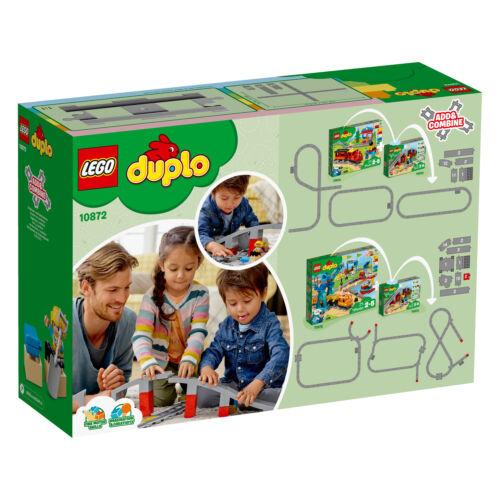 LEGO DUPLO 10872 pont de chemin de fer et rails train Bridge and Tracks n9//18