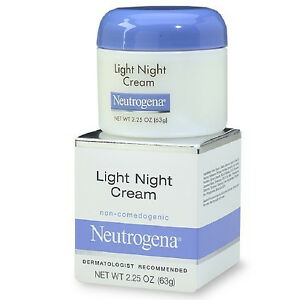 details about neutrogena light night cream oz moisturizing. Black Bedroom Furniture Sets. Home Design Ideas