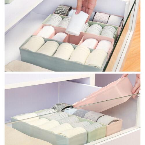 5 Lattice Home Underwear Container Storage Box Sock Tie Draw Divider Organiser