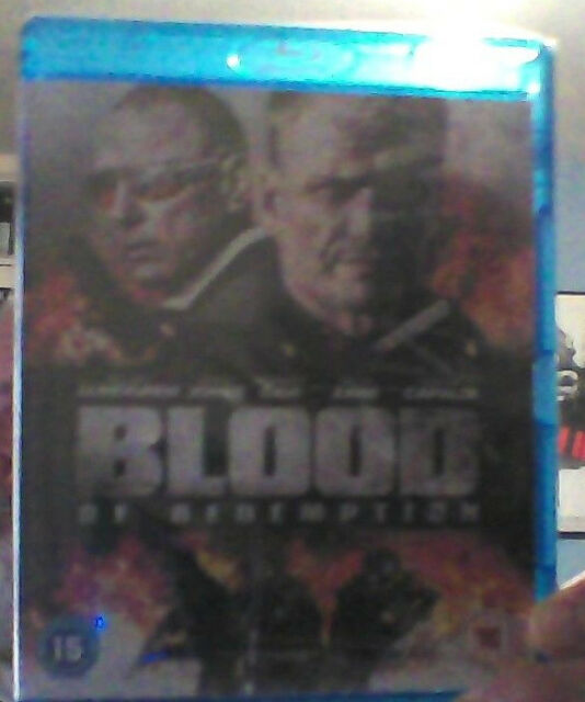 BLOOD OF REDEMPTION: Blu-ray (2013) NEW & SEALED!