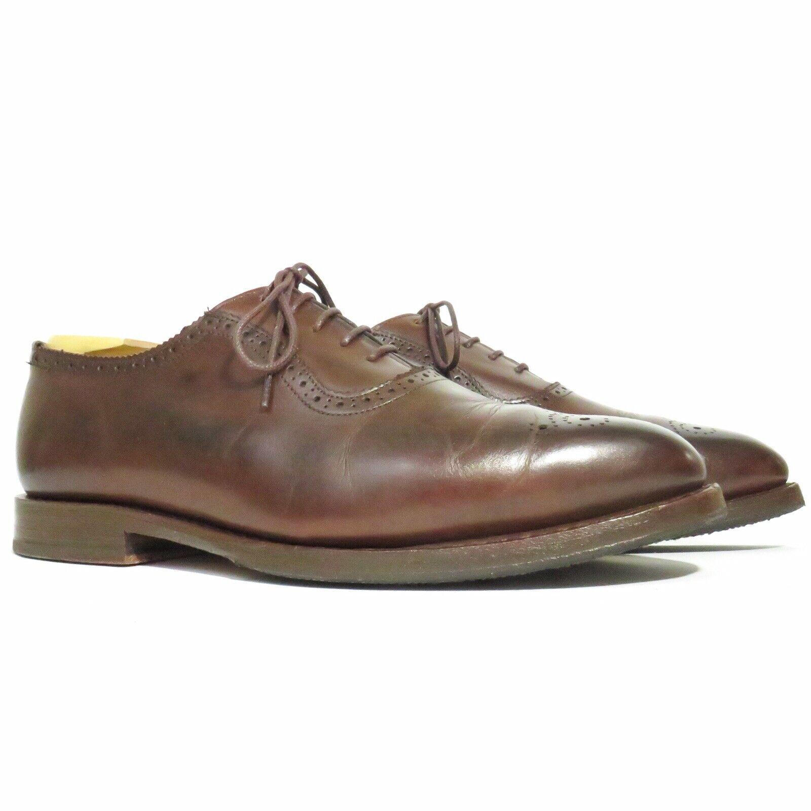 Allen Edmonds Premier Marronee Charles  Street scarpe - US 8EEE - USA  confortevole