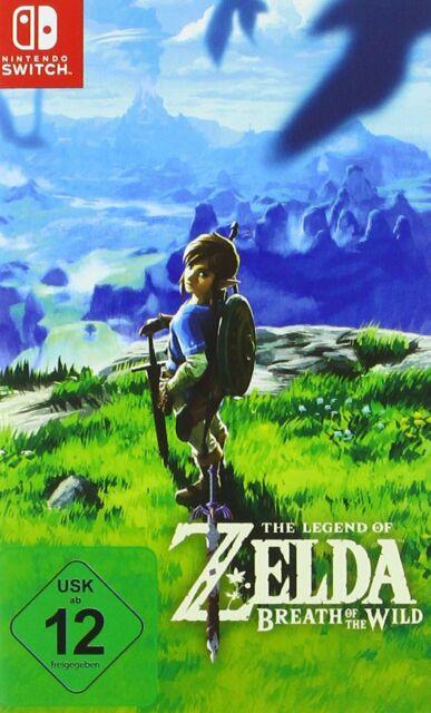 Legend Of Zelda - Souffle Of The Sauvage Commutateur Neuf + Emballage D'Origine