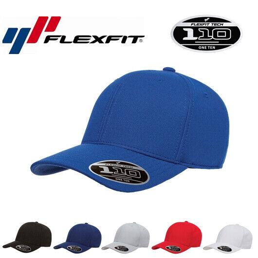 Flexfit 110P Baseball Snapback Sport Schweissabweisend Running Cap