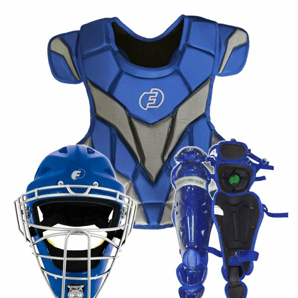 Force 3 Pro Gear catcher's Gear Set Completo (Royal, adulto)