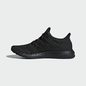 ecb32537bb9 New Adidas Ultra Boost Ultraboost 4.0 Triple All Black BB6171 All ...