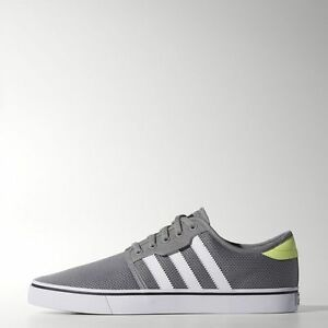 huge selection of e068f ac424 Image is loading Adidas-Seeley-Grey-C76933-Lifestyle-Men-Shoes