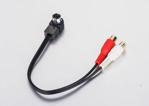 ALPINE AI-NET AUX INPUT ADAPTER CABLE LEAD HARNESS IPOD MP3 KCA-121B