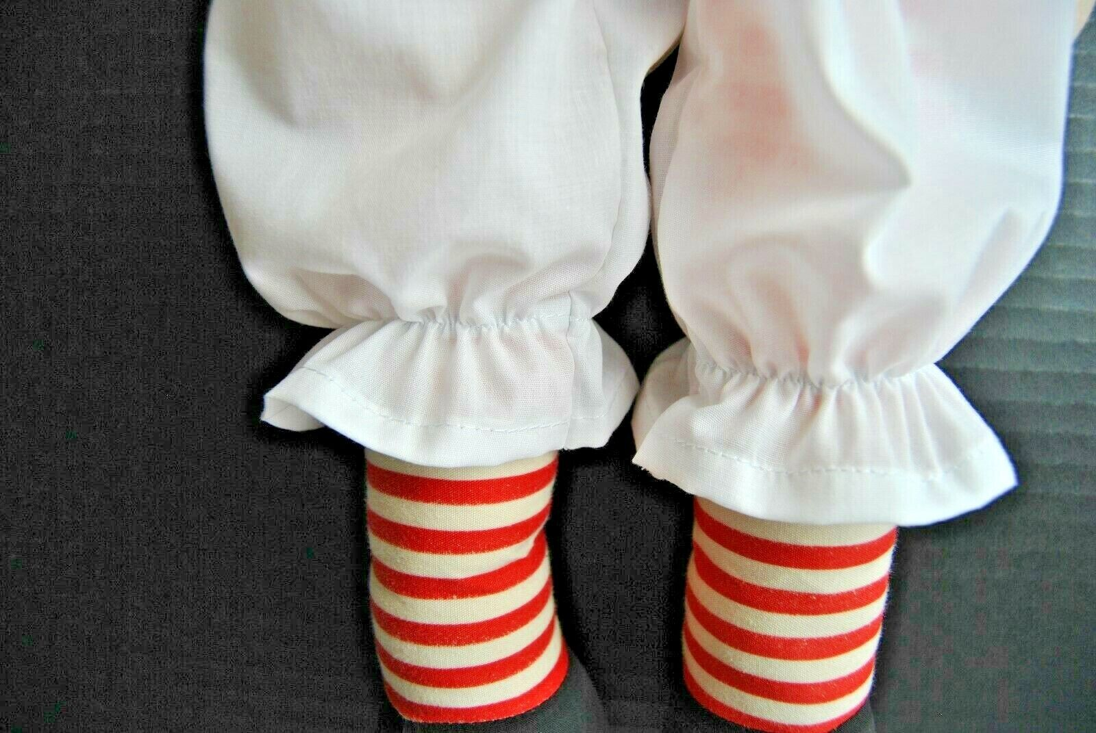 Hand Made Doll Clothes Replacement Panties to fit 20 inch Raggedy Ann doll