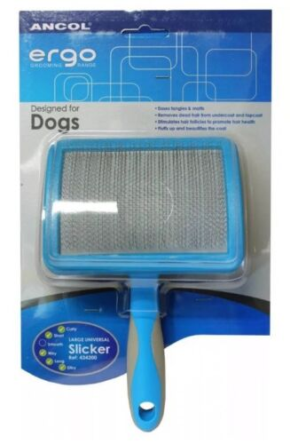 Ancol Large Universal Slicker Brush for Curly,short,wiry,long,silly Coats