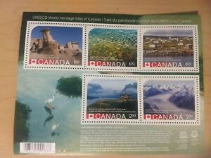 2015-UNESCO-World-Heritage-Park-Sites-ERROR-RARE-Souvenir-Stamp-Sheet