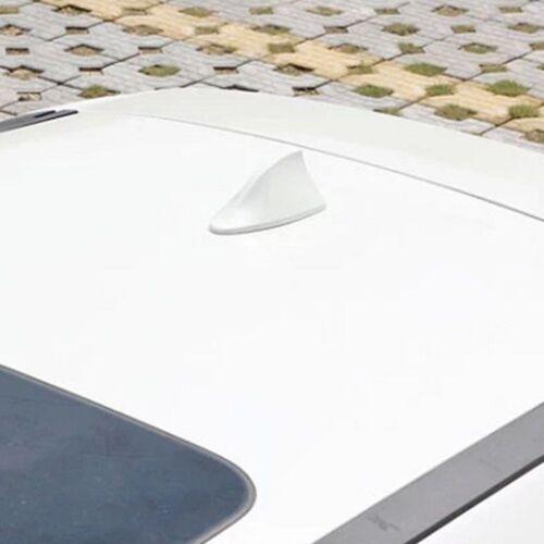 Vortex Stereo Cover Shark Fin Antenna Roof Signal Aerial Car Radio AM//FM White